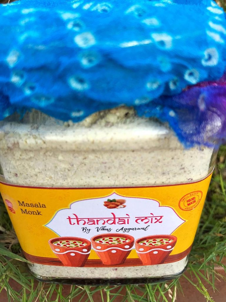 Rose Petal Thandai Powder for sale online