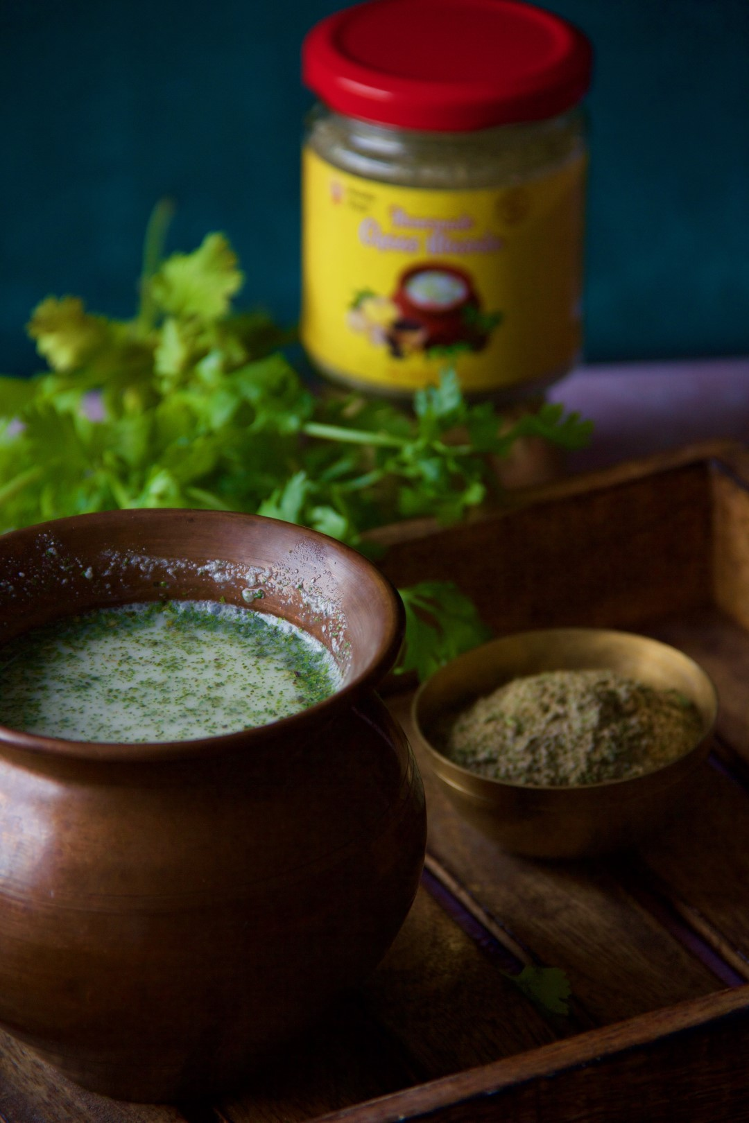 Chaas Masala by Masala Monk has the correct blend of herbs and spices